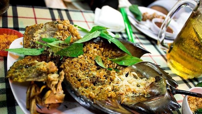 Món ăn từ sam biển