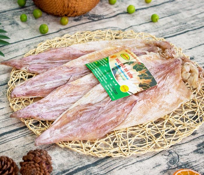 Mực khô Cô Tô thương hiệu Bá Kiến được chứng nhận là Hàng Việt Nam chất lượng cao trong 5 năm liên tiếp